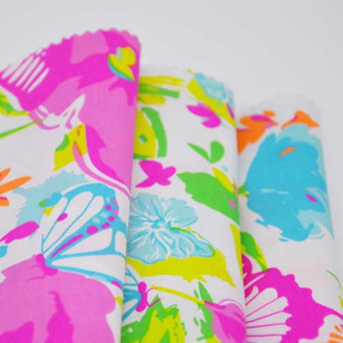 65 Polyester 35 Cotton Printed Fabric