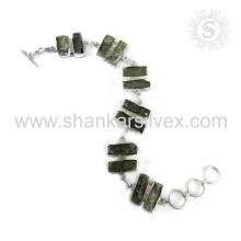 New Splendid Kyanite Gemstone Bracelet 925 bijoux en argent sterling à la main en gros Bijoux en ligne
