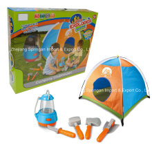 Boutique Playhouse Juguete de plástico-Little Explorer Camping Set con tienda