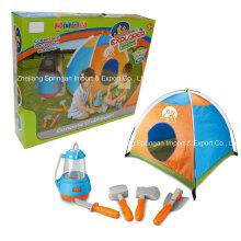 Boutique Playhouse brinquedo de plástico-Little Explorer Camping Set com barraca