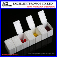 Weekly High Quality Logo Customized Pillbox (EP-028)