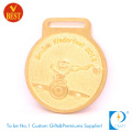 Supply Gold Plating Pressure Stamping Zinc Alloy 3D Kinderfest Medal with Erosion