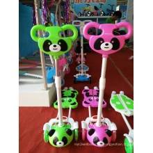 Kids Scooter Frog Type Kick Scooter, Aninal Panda Children Scooter
