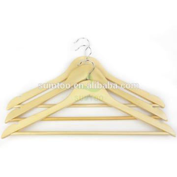 hotsale дешевые деревянные вешалки натуральная вешалка для одежды деревянная гирлянда