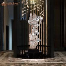Chinesische OEM Indoor Polyresin Skulpturen für Luxus-Hotels Dekoration