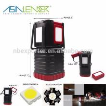 Líder da Ásia Produtos 24SMD + 30LED + 1W 650Lumen Lanterna Outdoor Camping Multifuncional