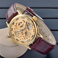 Neue Art-automatische Uhr, Art- und WeiseEdelstahl-Uhr Hl-Bg-090