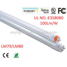 5 years warranty CE UL DLC listed energy saving t8 led tube light 15w