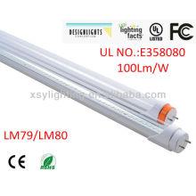 5 anos de garantia O CE UL DLC enumerou a economia de energia t8 conduziu a luz 15w do tubo