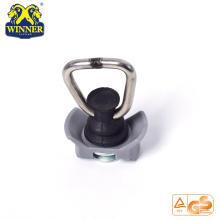 Base de plástico Single Stud Fitting con SS D Ring para carga