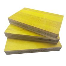 hot sale 3-layer formwork panel/3 ply yellow shuttering panel