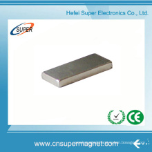 ISO9001 Certificated N40 Ni Coating Neodymium Block Magnet
