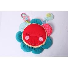 Nouveau design Hedgehog Flower Mat Baby Toy