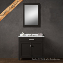 Hot Sell American Solid Wood Bathroom Cabinet
