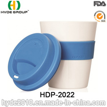 Tasse de café durable simple de voyage de mur simple (HDP-2022)