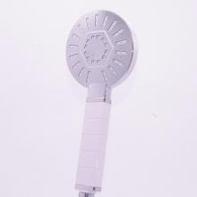 Pomme de douche en plastique unique pour accessoires de salle de bains Yuyao