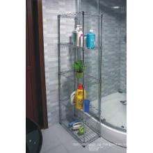 Rincón de baño de acero inoxidable de almacenamiento de rack (CJ6020120B5C)