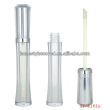 New cosmetic package lipgloss tube containers with brush