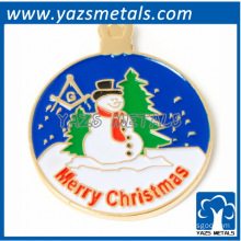 Merry Christmas Bro Frosty Lapel Pin