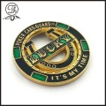 High Quality Navy Metal Coin with Epoxy