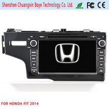 Car Central DVD GPS Multimedia Player for Honda Fit 2014
