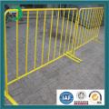 Heiß getaucht verzinkt gebrauchter temporärer Zaun mit PVC beschichtet