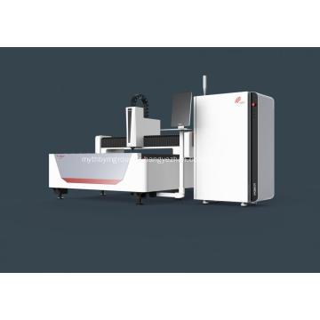 Dispositif de coupe au laser à fibre métallique pour machines d'ingénierie