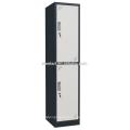 En Polvo recubierto de seis compartimentos de acero armario / Metal Locker
