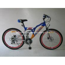 """26 """"bicicleta de montanha de armação de aço (2608)"""