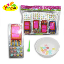 Cheap Writing board Phone Toy with star candy for kids