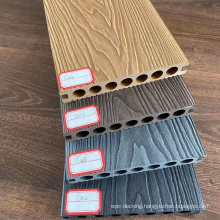 3D embossed surface WPC decking,Super embossed flooring for outdoor,15years warranty.
