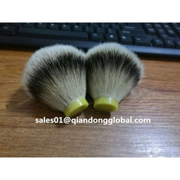 24mm Natural Silvertip Badger Hair Knot