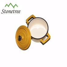 marmite / cocotte en fonte mini de haute qualité