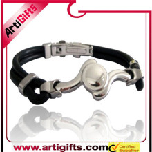 Free samples survival bracelet stainless steel