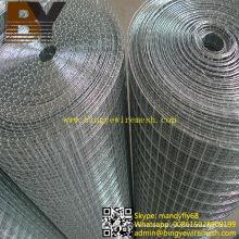Acoplamiento de alambre soldado recubierto de zinc