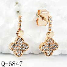 Neueste Styles Ohrringe 925 Silber Schmuck (Q-6847)
