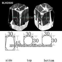 K9 Leeren Kristall für 3D Lasergravur