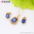 63228-Xuping Fine Jewelry Imitation Wedding Gold Jewelry Set Jewelry Fashion