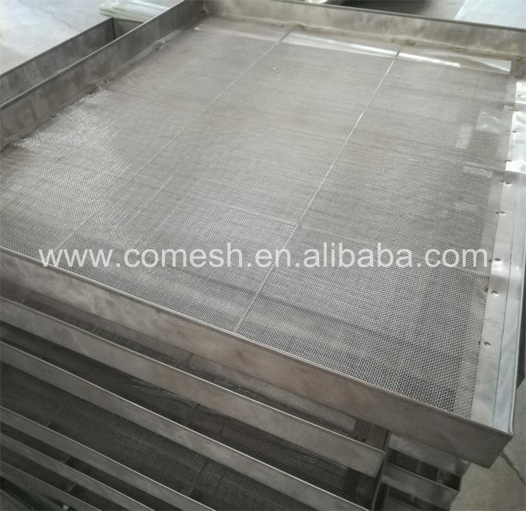 Polishing Perforated Dehydrator Drying Tray