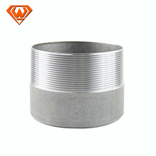 pipe fitting half thread nipples