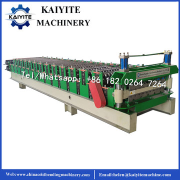 Südafrika Double Layer Roofing Sheet Machine