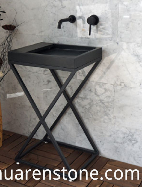 Wrought Iron Sink Base