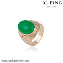 14671 Fashion jewelry elegant man's ring designs wholesale 18k gold color luxury special price rings