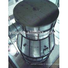 Sécheur centrifuge haute vitesse utilisé dans le fluorure de sodium