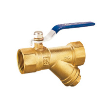 Brass Ball Valve, Locking Lever Handle