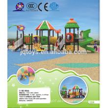 2016 Vergnügungspark Kinder große Outdoor-Spielplatz Ausrüstung Verkauf / Kunststoff billig Spielplatz für den Verkauf