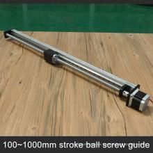 Carril linear del tornillo de la bola del tornillo de la bola del servicio profesional C7 para el CNC