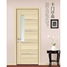 Puerta ecológica de puerta interior de melamina ecológica
