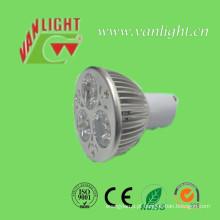 Refletor de LED 3W Gu 10, lâmpada de LED de baixa potência