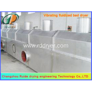 High Capacity Vibrating Fluid Bed Dryer for Gourmet Powder
